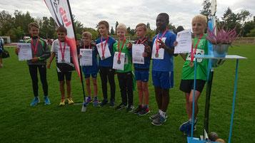 Das Team Oder-Spree freut sich über Bronze bei den Landesmeisterschaften (Foto: Simone Wollenberg)