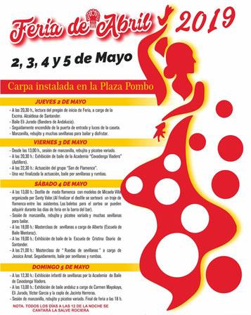 Fiestas en Santander Feria de Abril
