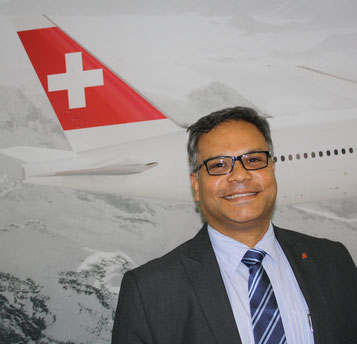 Head of Swiss WorldCargo Ashwin Bhat relies on internal know-how to constantly improve the carrier's freight business  -  pictures: Swiss