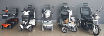 Elektromobile für Senioren und Menschen mit Behinderungen in Bad Hall bei Linz in Österreich