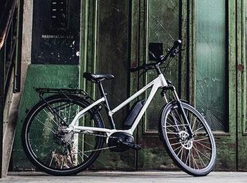 "e-Bike Rahmenform ""Mixte"""