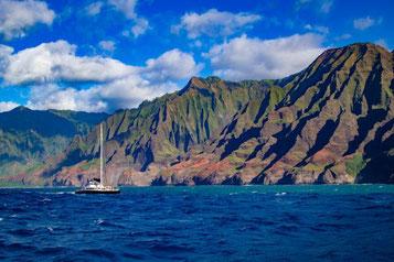 Napali Coast, Hawaii, Kauai, USA, Küste, Die Traumreiser