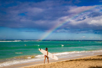 Waikiki Beach, Oahu, Hawaii, USA, Strand, Die Traumreiser, Reisetipps, Highlights
