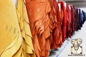 revêtement cuir malle quelle toile choisir pour fabriquer une malle decorative