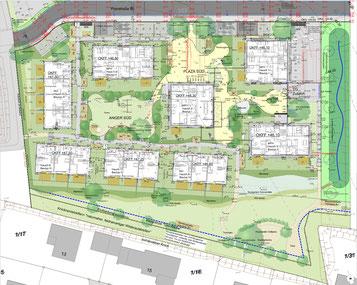 Gemeinschaftsflächen der Baugemeinschaft