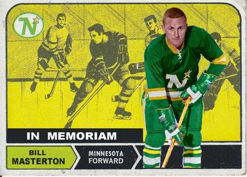 Bill Masteron, gestorben nach einem Eishockeyspiel