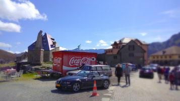 am Pass des Gotthard