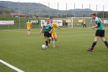 Sicher am Ball: Florian Bayer