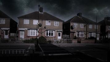 la casa degli Hodgson a Enfield