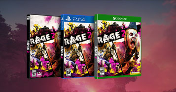 RAGE 2 Packshot PS4 Xbox One PC