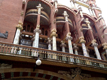 дворец каталонской музыки, palau de la musica catalana, гид в барселоне, экскурсии в барселоне