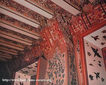Кесонные потолки - дом Висенс
