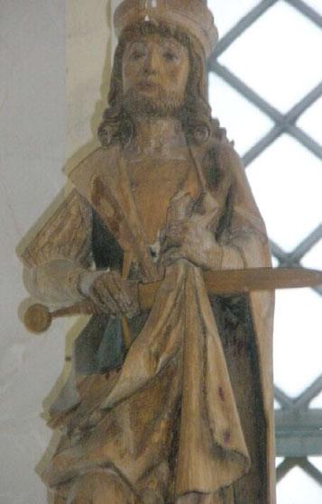Der heilige Martin von Schwarzkollm Quelle: Internetseite der Gemeinde Schwarzkollm (Bild verlinkt)