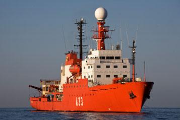 El grueso de la expedición Malaspina culminó con el regreso del Hespérides en 2011./ © CSIC/ JOAN COSTA