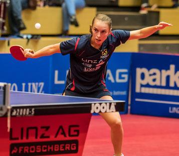Foto A. Bernkopf - Linda Bergström 2018 01 17 ITTF Ungarn Open