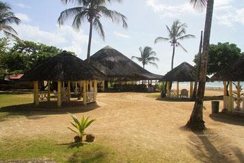 Unser Restaurant am Strand