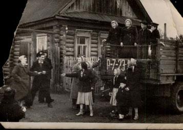 Russische Neusiedler ab 1946