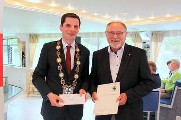 Christian Pospischil und Hartmur Hosenfeld