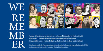 Katalog-Titlblatt we remember