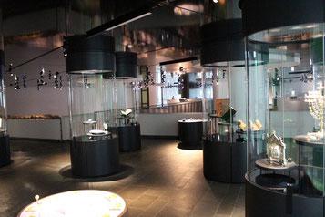 Blick in das Museum Judengasse.