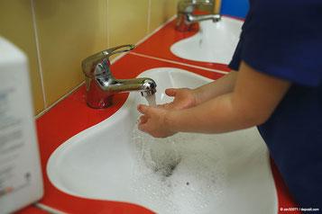 Genau hinschauen lohnt sich - Kita-Hygiene