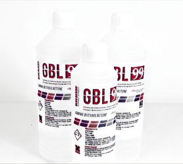 GBL (= Gamma-Butyrolacton), wie es im Handel zu erwerben ist