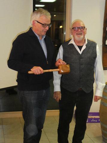 Markus Amsler ist der neue Präsident des Männerchors Frick. Er löst Markus Hiltbrunner ab, welcher während 6 Jahren den Verein vorzüglich geleitet hat.