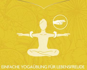 """Einfache Yogaübung für Lebensfreude - Yogi Tea Pures Glück """"Ein Tee wie ein Tag voller Sonnenschein"""""""