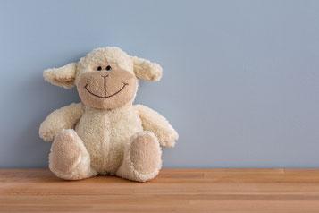 lachender Teddybär