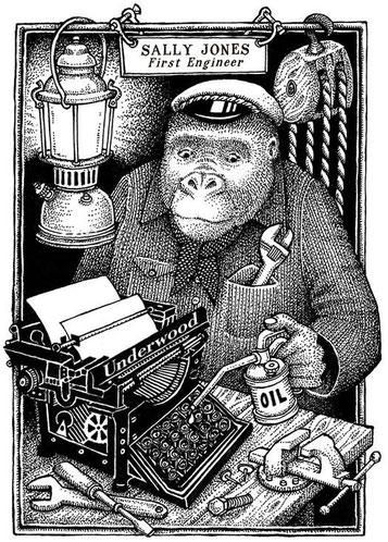 Sally Jones, la mon... goril·la de l'assassí