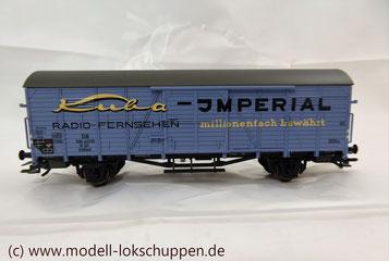 "nsider-Wagen 2011: Gedeckter Güterwagen ""Kuba-Imperial"" / Märklin 48161"