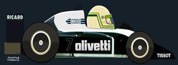 Stefano Modena by Muneta & Cerracín - Brabham BT56 - BMW L4 turbo