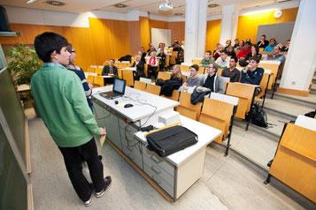 Abschlusspräsentation IngFo (Bild: Oliver Dietze)