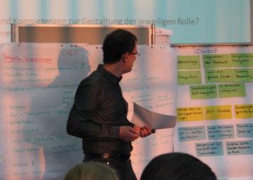 Präsentation von Teamwork-Ergebnissen (Foto: QZP).