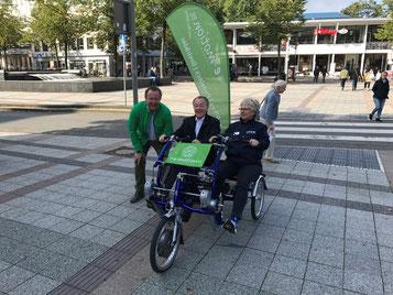 Tag der Mobilität mit dem Dreirad Zentrum Bielefeld