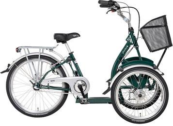 Pfau-Tec Bene Front-Dreirad Beratung, Probefahrt und kaufen in Heidelberg
