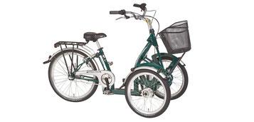 Pfau-Tec Bene Front-Dreirad Beratung, Probefahrt und kaufen in Nürnberg