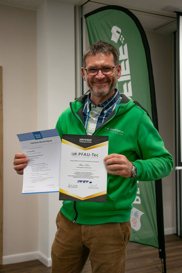 Ingo Klein ist jetzt als Medizinprodukteberater zertifiziert