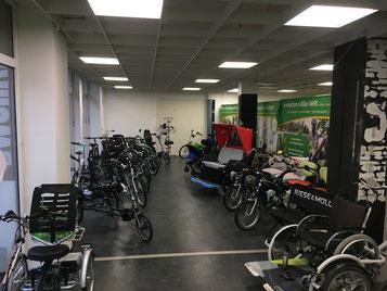 Das Team vom Dreirad-Zentrum Stuttgart freut sich auf Sie!