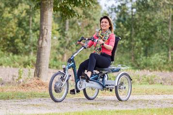 Easy Rider Van Raam Sessel-Dreirad Elektro-Dreirad Beratung, Probefahrt und kaufen in Düsseldorf