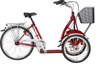 Pfau-Tec Primo Front-Dreirad Beratung, Probefahrt und kaufen in Kempten