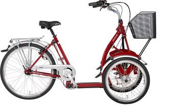 Pfau-Tec Primo Front-Dreirad Beratung, Probefahrt und kaufen in Heidelberg