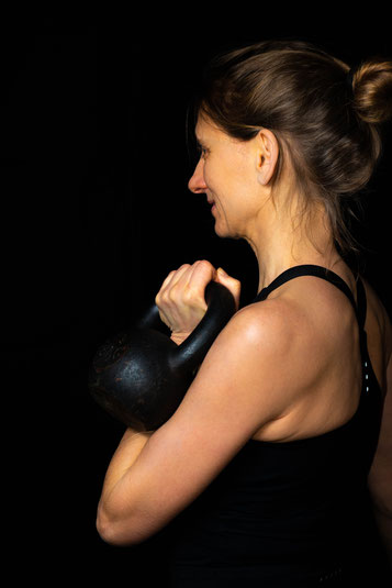 Andrea Hache Yoga Personal Fitness Funktionelles Training Kettlebells Heidelberg Neckargemünd