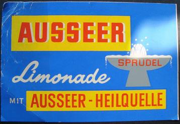 Ausseer Limonade - Sprudel (Ausseer - Heilquelle)