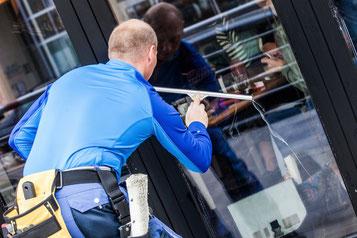 Gebäude- und Fassadenreinigung bei der Wulf Objektbetreuung e.K.