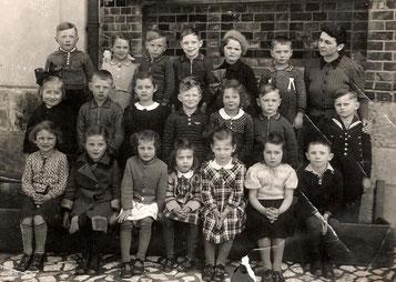 Einschulung 1940