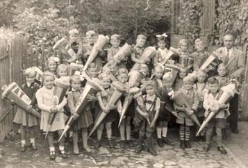 Einschulung 1956