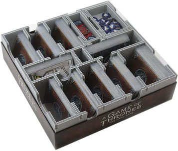 folded space insert organizer game of thrones second edition lcg