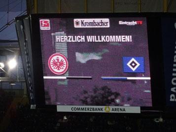 Am 25. Spieltag traf die SGE und der HSV aufeinander