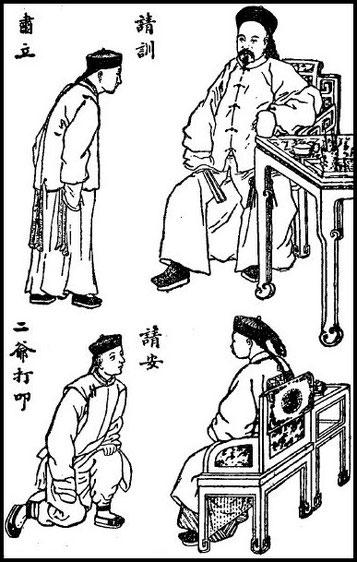 Planche 5. Simon KIONG : Quelques mots sur la politesse chinoise Variétés sinologiques n° 25, Mission catholique, T'ou-sé-wé, Chang-hai, 1906.